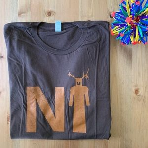NWOT Brown Tee: Knights Who Say Ni Monty Python